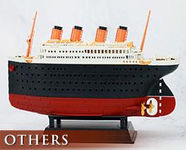 OT2765  Titanic & Iceberg Diorama Derormed Plastic Model Kit