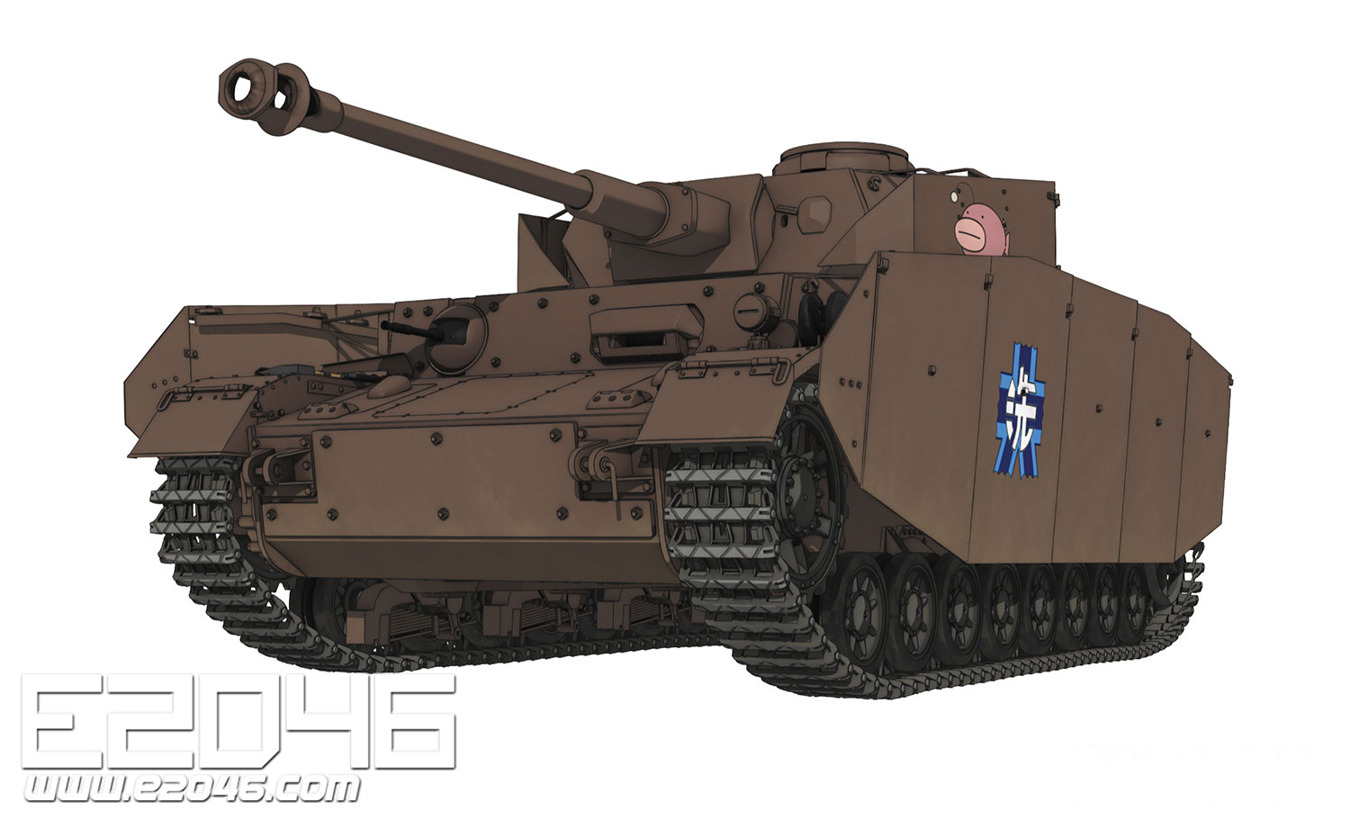 IV Tank Ausf H Team Ankou Inside Reproduce Version