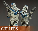 OT1539 1/6 Clone Trooper Echo & Fives Set
