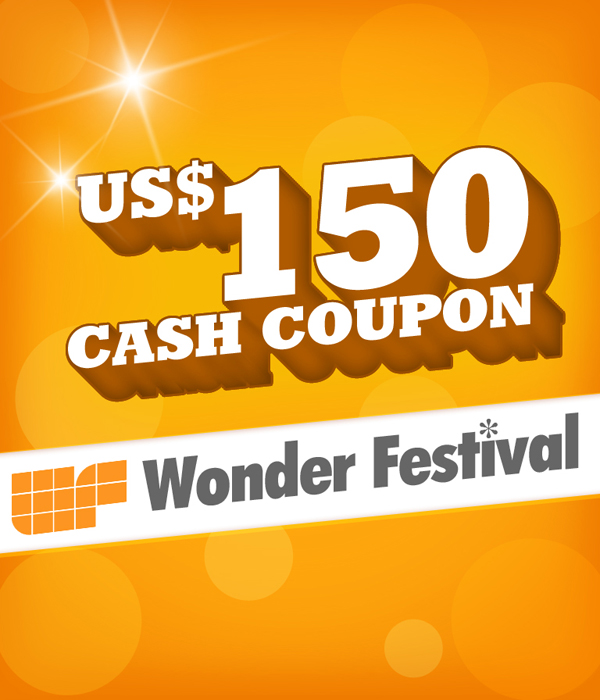 US$ 150.00 Cash Coupon