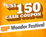 OT1546  US$ 150.00 Cash Coupon