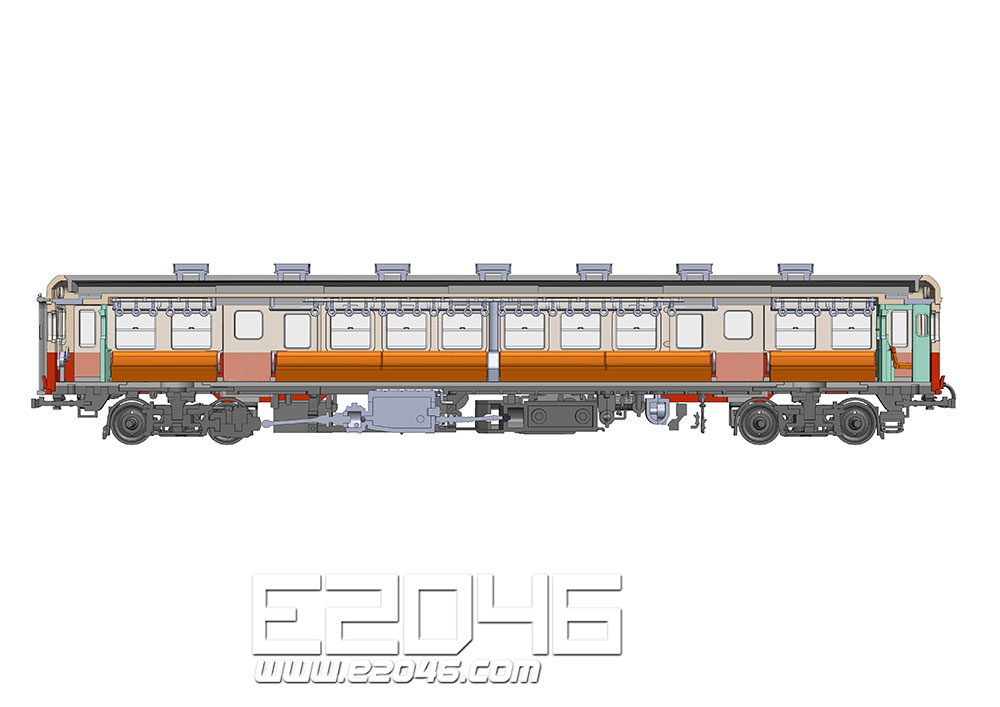 Kominato Railway KiHa 200 Type Middle Model