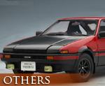 OT0857 1/18 Toyota Sprinter Trueno AE86 Special Tuned Ver. Red