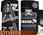 OT1238  Wallet with Chain Luffy Black