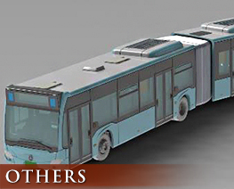 OT2636 1/150 Articulated Bus