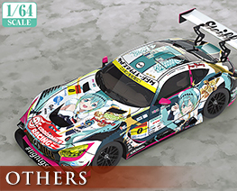 OT2581 1/64 Hatsune Miku AMG 2018 SUPER GT Version