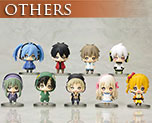OT1940  One Coin Mini Figure Collection Mekaku City Actors 9 pieces