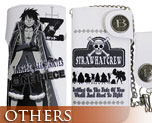 OT1237  Wallet with Chain Luffy White