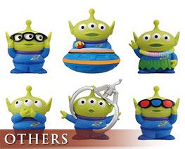 OT2403  Toy Story Alien Soft Vinyl Puppet Mascot