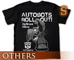 OT0672  Transformers Animated Optimus Prime T-shirt Black S