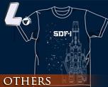 OT0280  超时空要塞 SDF-1 T-shirt 靛蓝色 L