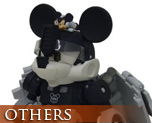OT0183  Transformers Disney Label Mickey Mouse Monochrome