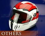 OT0070  Macross Bike Helmet Scull Platoon Hikaru Ichijyo Type
