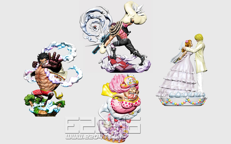 One Piece Whole Cake Island Version