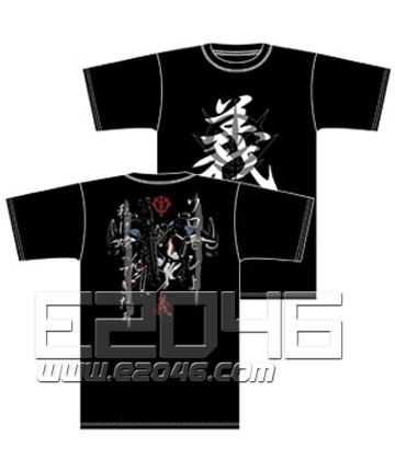 Gundam 0083 I`m Comeback T-shirt Black M