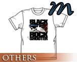 OT0169  Black Rock Shooter B*RS Flying T-shirt WHITE M