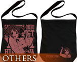 OT0536  K-on! Hirasawa Yui Shoulder Tote Bag Black