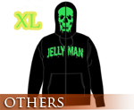 OT0882  Jelly Man Full Zip Parka Black XL