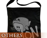 OT1950  Von Shoulder Tote Bag Black