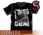 OT0462  Crossbone Gundam T-shirt Black S