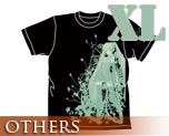 OT0168  Hatsune Miku -Project DIVA- T-shirt Black XL