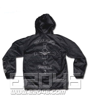Ace of Fire Fist Windbreaker Black S