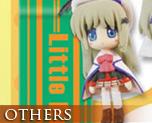 OT0022  Little Busters! Ecstasy Mascot Strap D (kud and Komari)