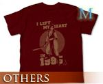 OT0833  不知火舞 T-Shirt 暗红色 M