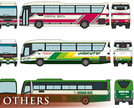 OT2606 1/150 The Bus Collection New Chitose Airport Bus Set A