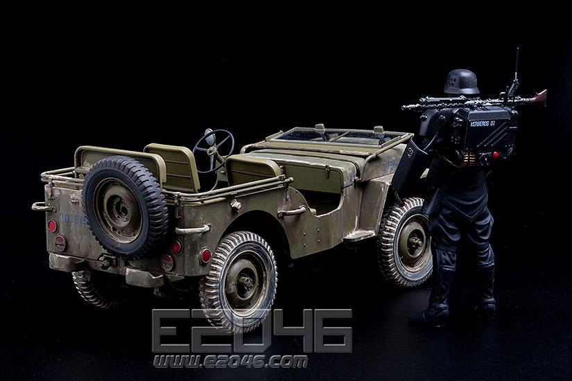 Protect Gear 與特搜班小型巡邏車