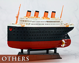 OT2764  Titanic + Port Scene Diorama Deformed Plastic Model Kit