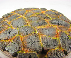 AC1753  Lava Surface Completed Display Base