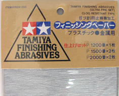 AC1772  Finishing Abrasive Set Ultra Fine