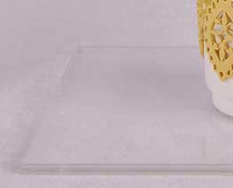 AC2230  Transparent Rectangular Acrylic Display Base L18