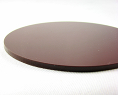 AC1744  Acrylic Display Base Round D9 Brown