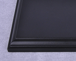 AC2362  黑色長方形木展示台 L20