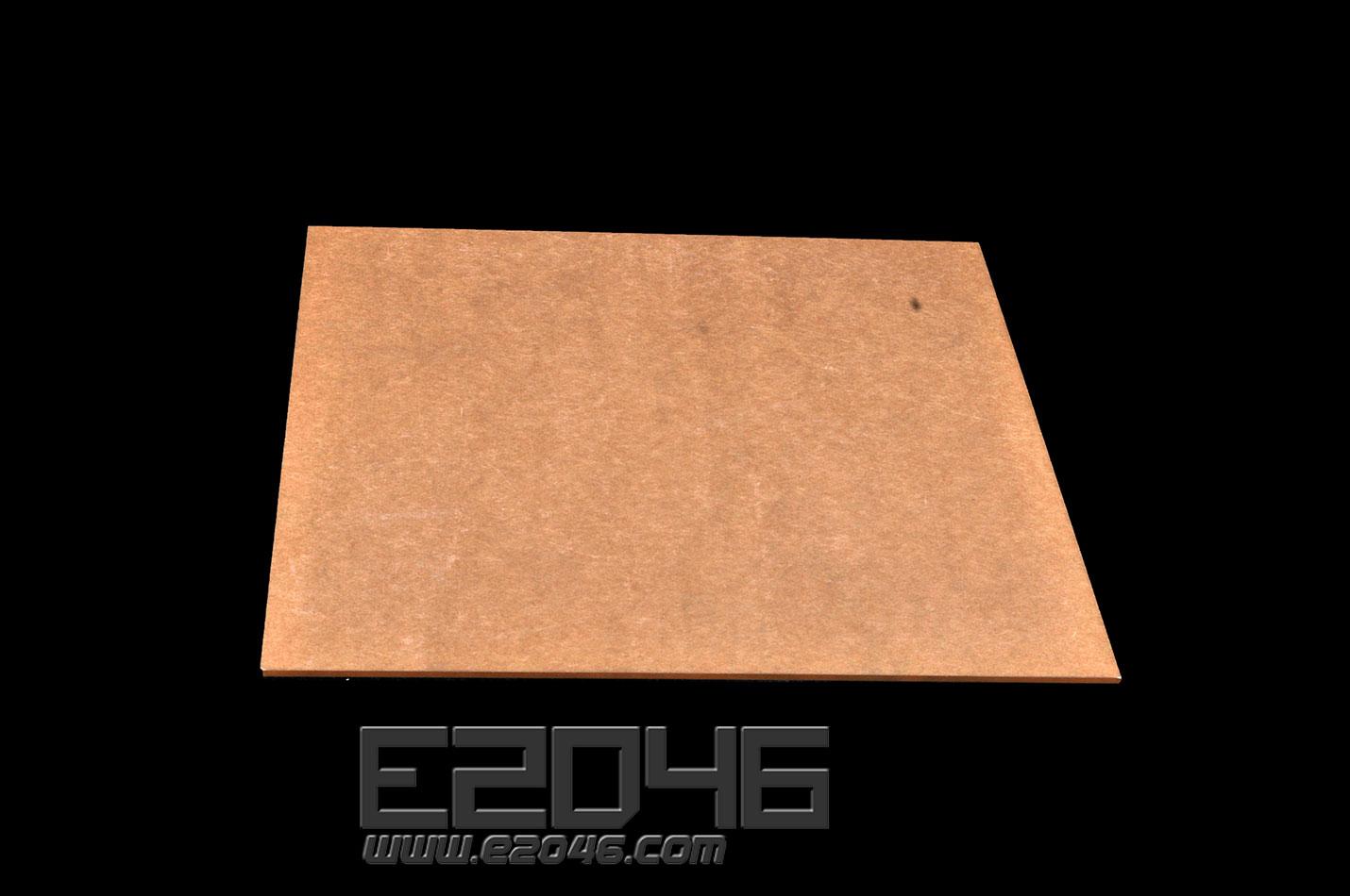 透明正方形压克力展示台 L24