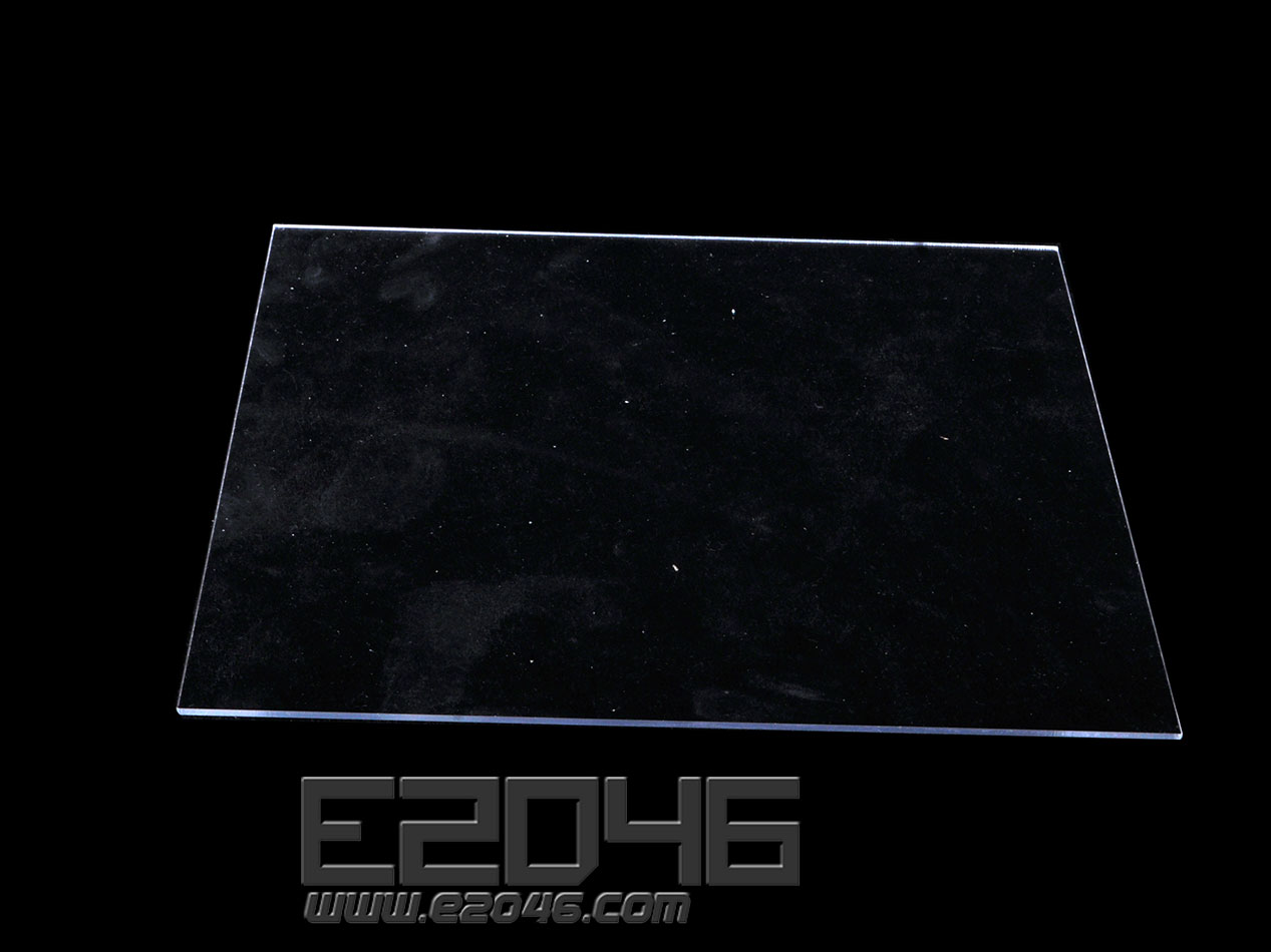 Transparent Square Acrylic Display Base L24