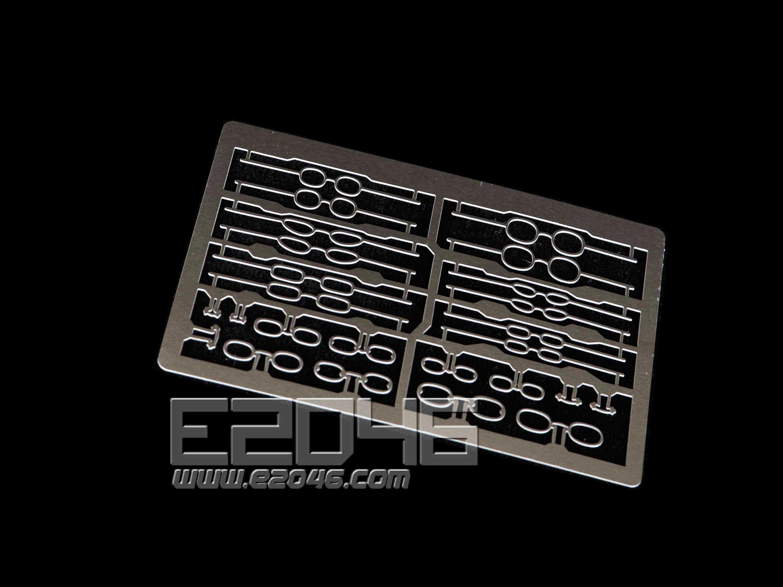 Metal Etched Glasses Set 5