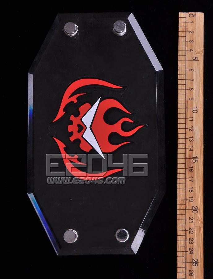 Tengen Toppa Transparent Rectangular Acrylic Display Base L24