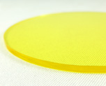 AC1679  Acrylic Display Base Round D9 Yellow