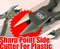 AC1468  Sharp Point Side Cutter For Plastic