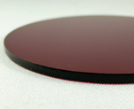 AC1682  Acrylic Display Base Round D9 Red