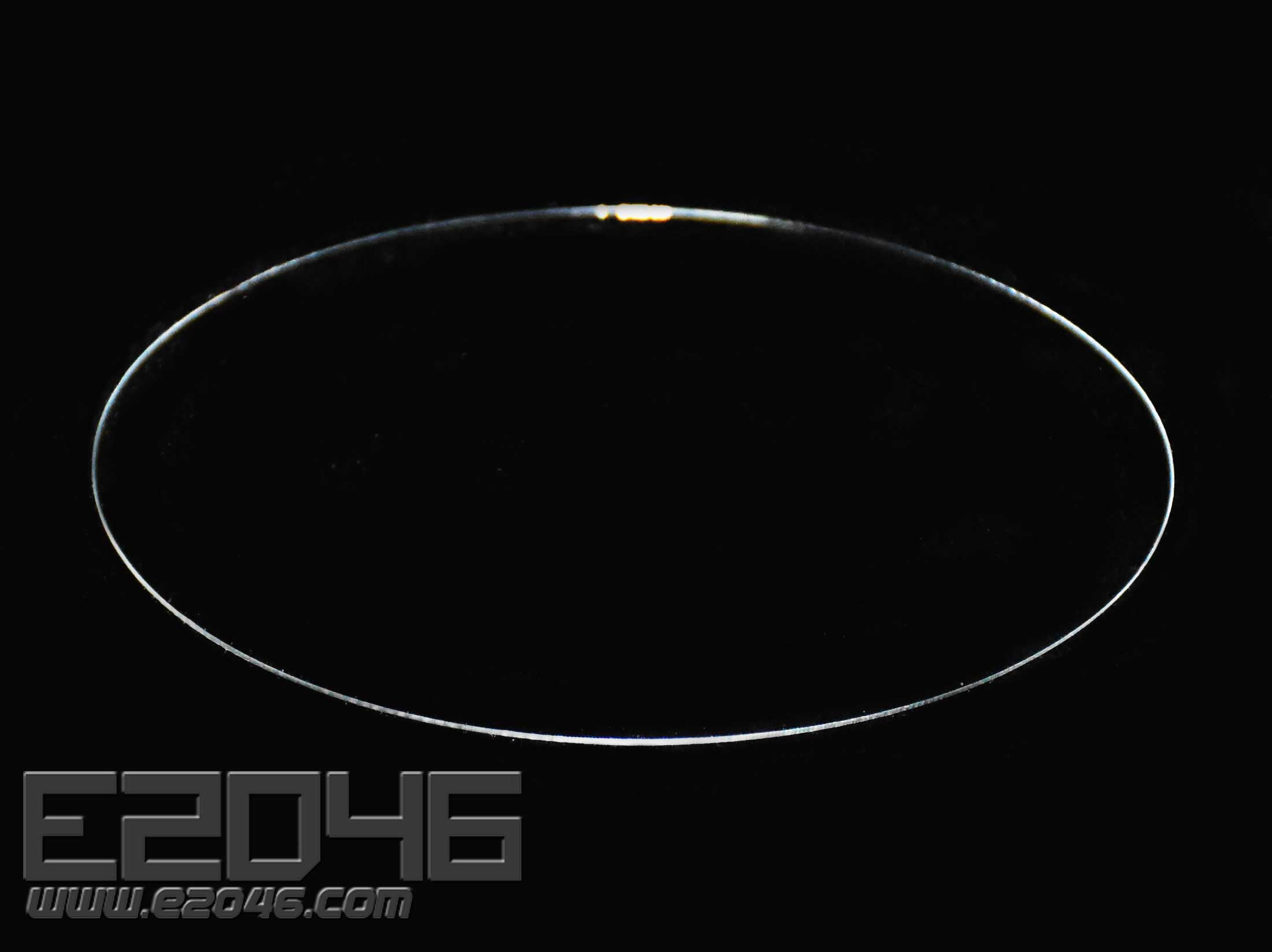 Transparent Round Acrylic Display Stand D12
