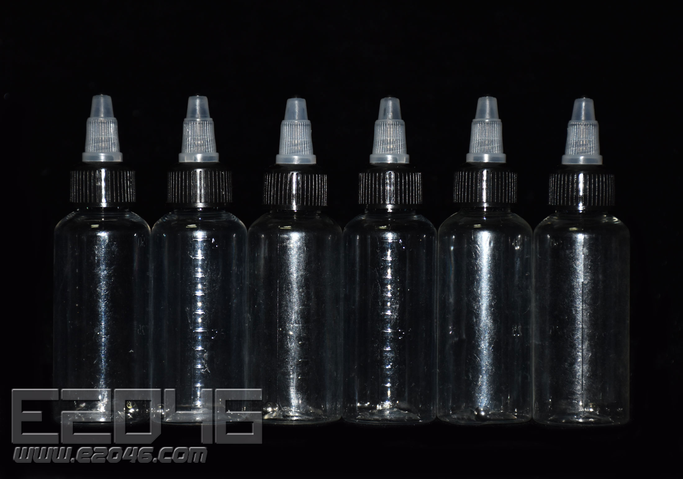 Paint Bottles 30mL with Ball Shaker Pack of 6