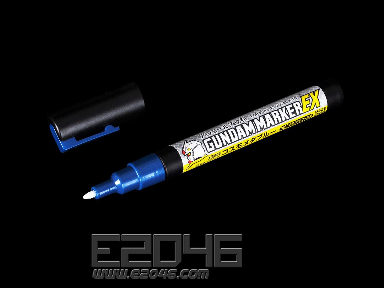 Marker Pen Metal Blue