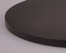 AC2189  Brown Round Wooden Display Base D10
