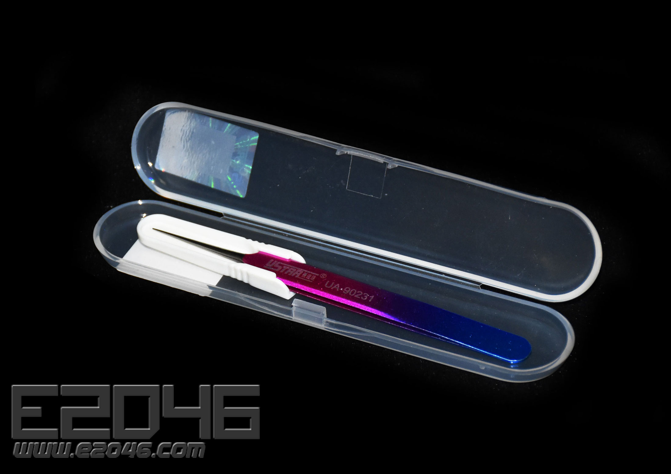 Color Precision Straight Tweezers For Model