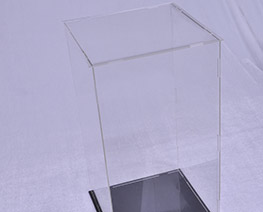 AC2323  Transparent Acrylic Display Case H35