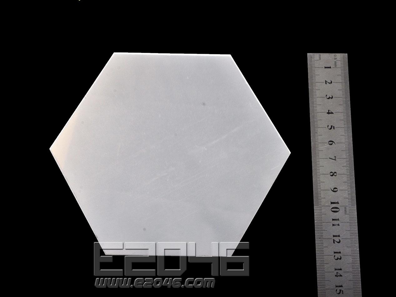 Mirror Hexagon Acrylic Display Base L15